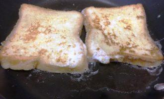 гренки с молоком пошаговый
