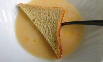 гренки с яйцом и молоком с фото