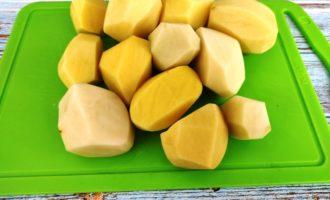 жареная картошка с грибами на сковороде рецепт