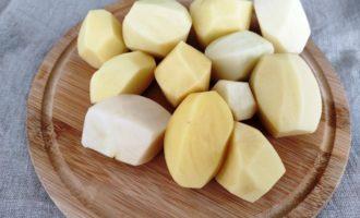 жареная картошка с шампиньонами рецепт с фото