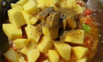 жаркое с кабачками и картошкой