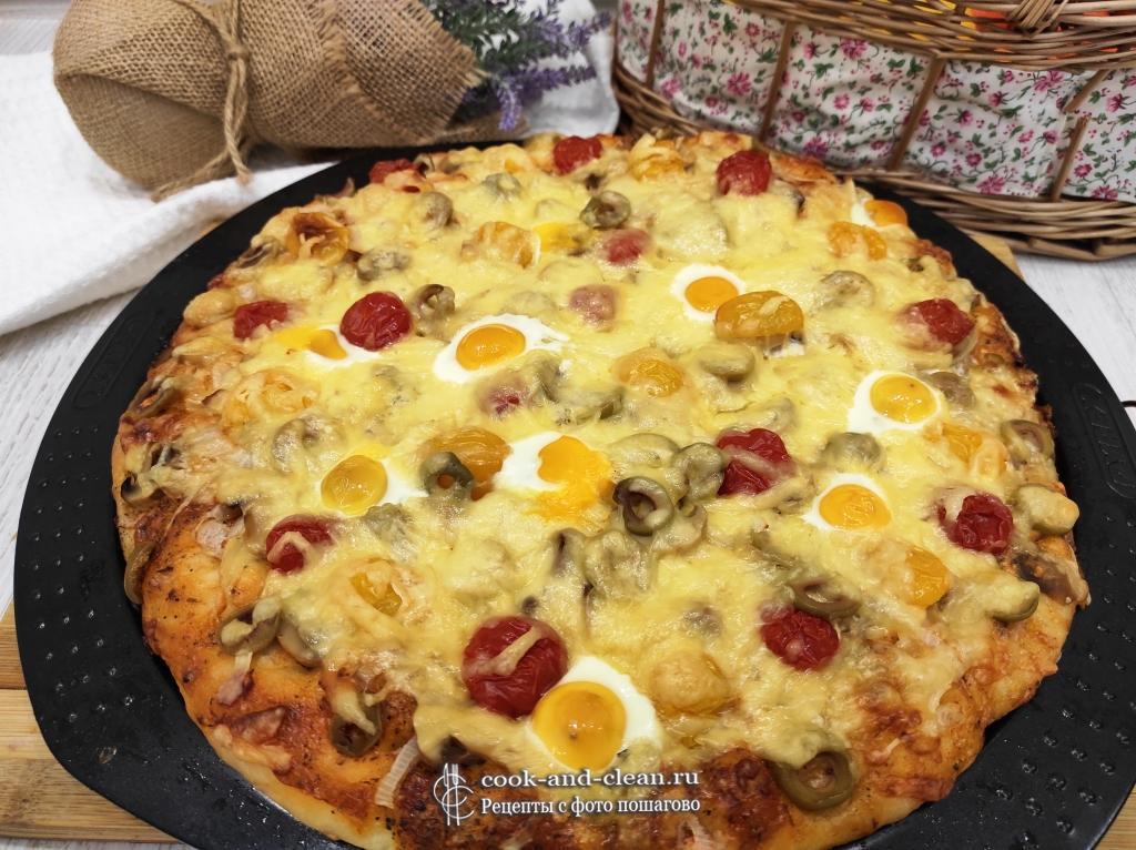 как приготовить вегетарианская пицца
