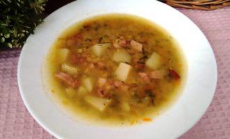 как приготовить гороховый суп с окорочком