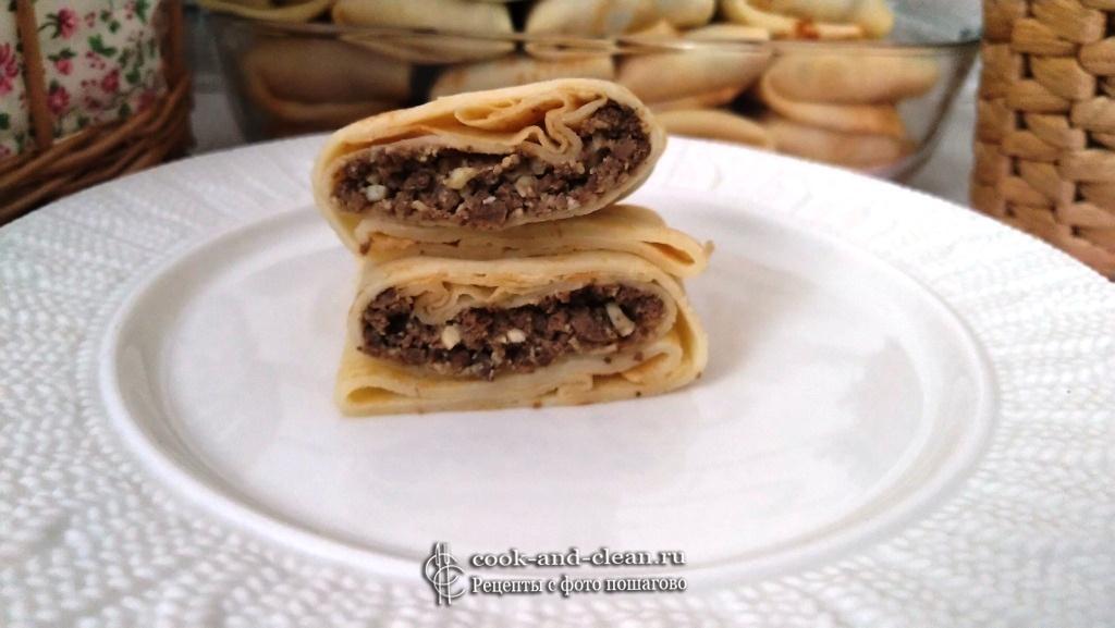 как приготовить начинка из печени для блинов