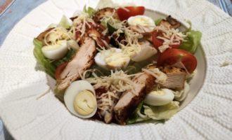 как приготовить цезарь с курицей пошаговый рецепт