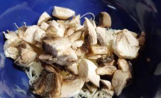 как сделать куриный рулет с грибами