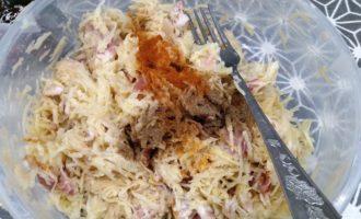 картофельные драники с беконом пошагово с фото