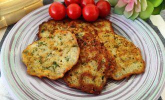 картофельные драники с чесноком