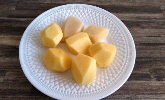 картофель с зеленью и чесноком рецепт