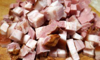 классическая сборная мясная солянка с копченостями