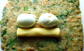куриный рулет с яйцом пошагово с фото