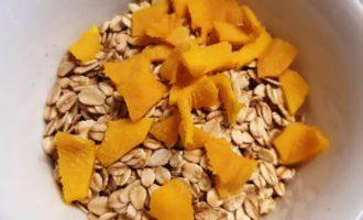 овсяная каша с манго