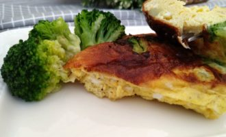 омлет с сыром и брокколи пошаговый рецепт