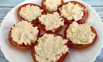 помидоры с сыром пошагово с фото