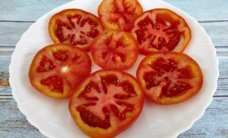 помидоры с сыром пошагово