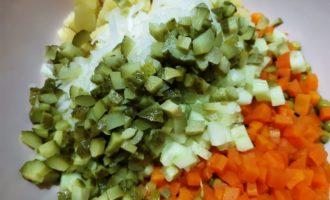 простой рецепт винегрета без капусты