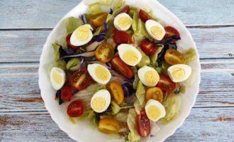 простой салат Цезарь рецепт с фото
