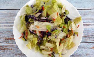простой салат Цезарь рецепт