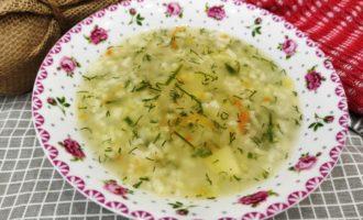 рисовый суп с мясом