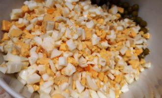 салат горошек яйца огурец свежий