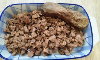 салат с языком и грибами рецепт