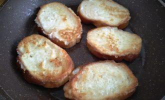сладкие гренки из батона с молоком пошагово