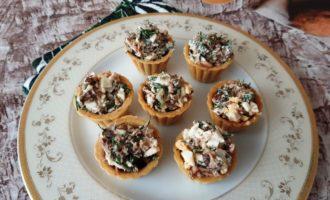 Рецепт тарталеток с тунцом и яйцом