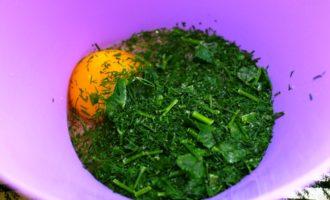 блины с зеленью фото