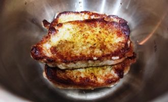 вкусный стейк из свинины на сковороде пошагово с фото