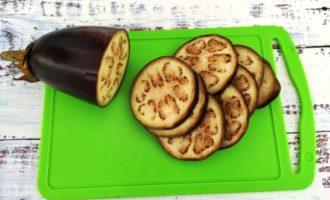 запечённые баклажаны с чесноком рецепт