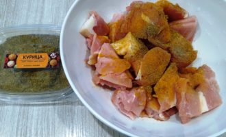 индейка с картошкой в духовке рецепт