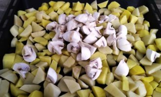 индейка с картошкой в духовке с фото
