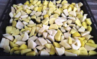 индейка с картошкой в духовке фото