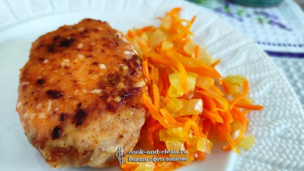 как приготовить котлеты с морковью и луком