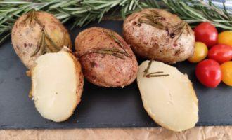 картофель в мундире запеченный в фольге