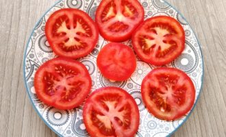 помидоры под шубой пошагово с фото