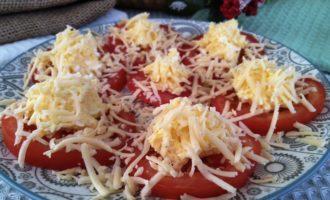 помидоры под шубой пошаговый рецепт