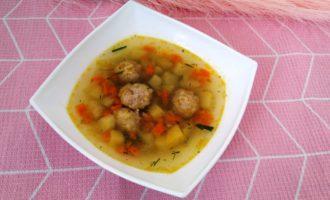 простой суп с картошкой и вермишелью