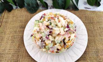 салат крабовый простой рецепт