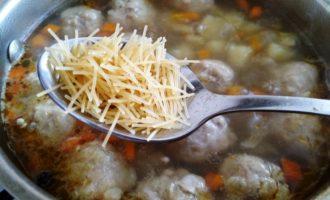 суп с вермишелью и картошкой пошаговый