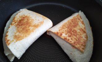 сэндвич из тортильи пошаговый рецепт с фото