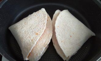 сэндвич из тортильи пошаговый рецепт