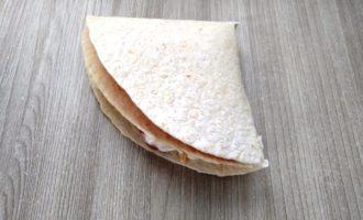 сэндвич из тортильи пошаговый