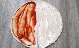 сэндвич из тортильи с фото