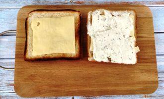 сэндвич с соленым лососем с фото