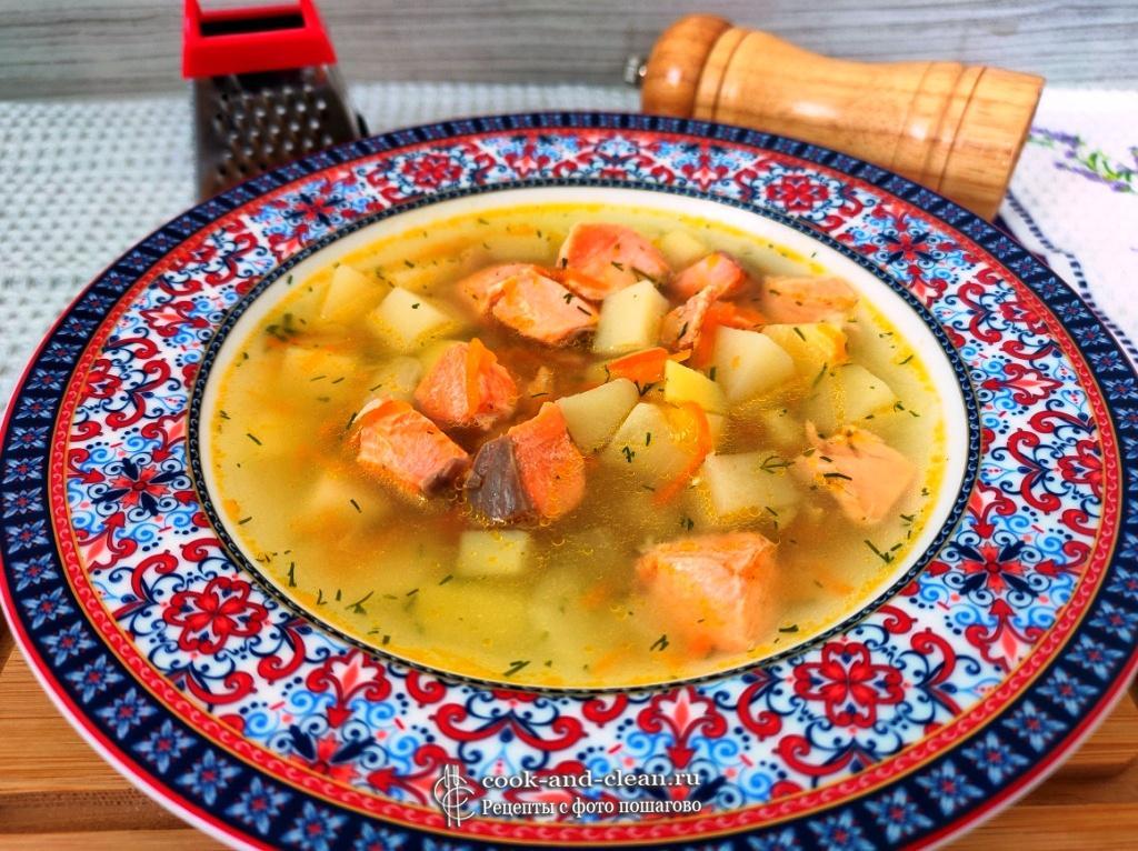 как приготовить рыбный суп из семги