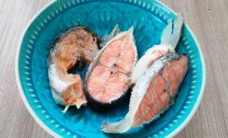 рыбный суп из семги с фото