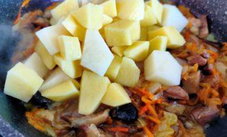 суп из белых грибов с картошкой пошагово
