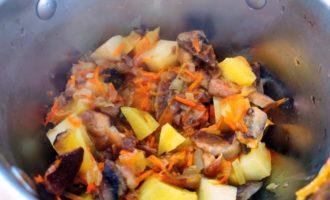 суп из белых грибов с картошкой пошагово с фото