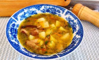 суп из белых грибов с картошкой пошаговый с фото